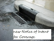 New Ohio Stormwater Notice-Of-Intent For Coverage